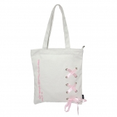 Ribbon Canvas Bag
