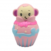 Monkey Cupcake Squishy