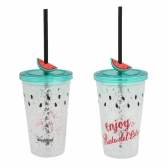 Freeze Plastic Cup 450ml