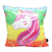 Reversible Unicorn Cushion
