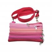Zipper Shoulder Bags (6 Zippers on Each Side)