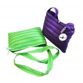 Zipper Shoulder Bags (Single Zipper)