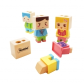 Kids Double Hole Pencil Sharpener with Eraser