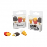 Food Eraser - 3 pcs per set