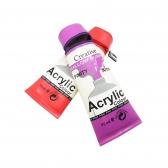 Color Tube Pencil Cases