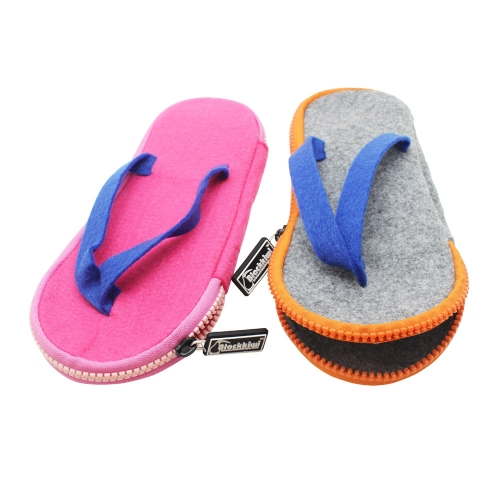 Slipper Shaped Pencil Cases