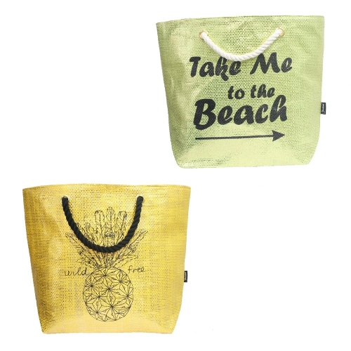 Metallic Beach Bag