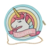 Circle Unicorn Handbag